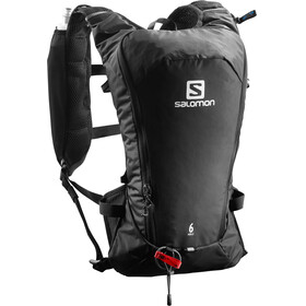 Salomon Agile 6 Backpack Set Black